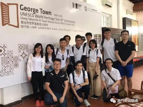 兩會到訪馬來西亞喬治市交流