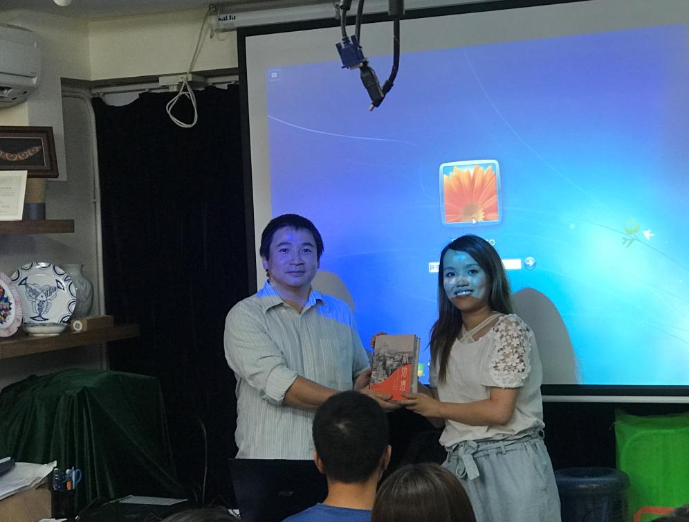 第十二屆文物大使培訓課程 陳志亮主講澳門城牆