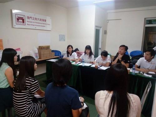 文物大使培訓37名學員進入培訓