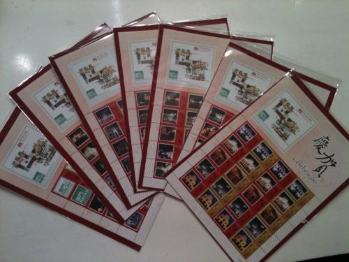 2010-07-15 世界遺產.澳門歷史城區五周年個性化郵票小版張
