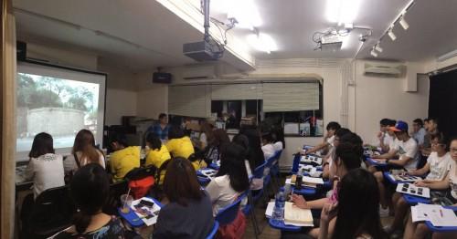 第八屆文物大使培訓課程 何偉傑、陳樹榮、溫學權主講澳門歷史