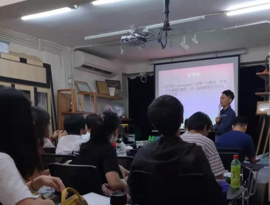 第十二屆文物大使培訓課程 譚志廣講解澳門文化遺產管理研究